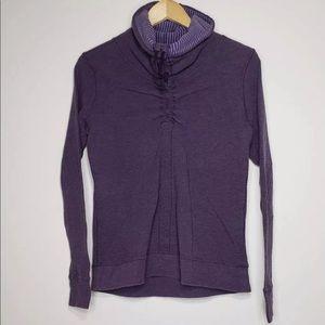 Lululemon In A Cinch Pullover Size 6 Purple